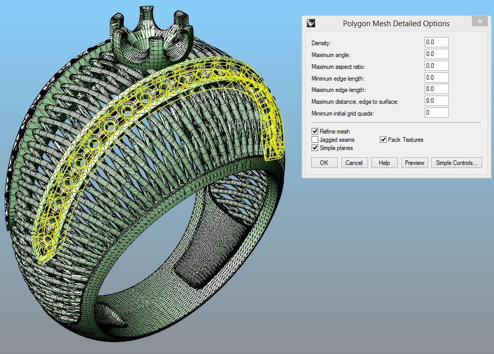 13a8b15eea16 Курс 3D моделирования ювелирных изделий, обучение ювелиров 3D ...