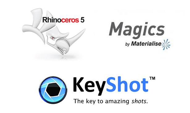 Rhino+magics+keyshot